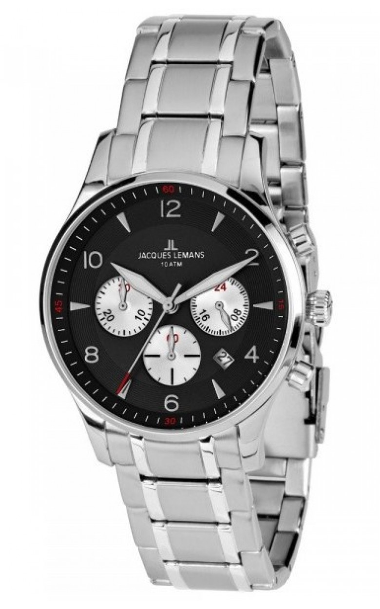 1-1654i  мужские кварцевые наручные часы Jacques Lemans  1-1654i