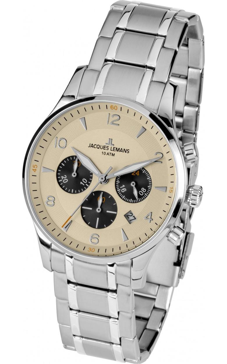 1-1654M  кварцевые наручные часы Jacques Lemans для мужчин  1-1654M