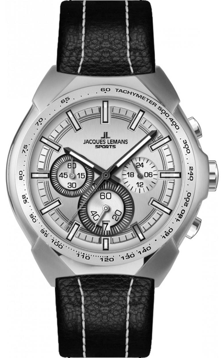 1-1675B  мужские кварцевые наручные часы Jacques Lemans  1-1675B