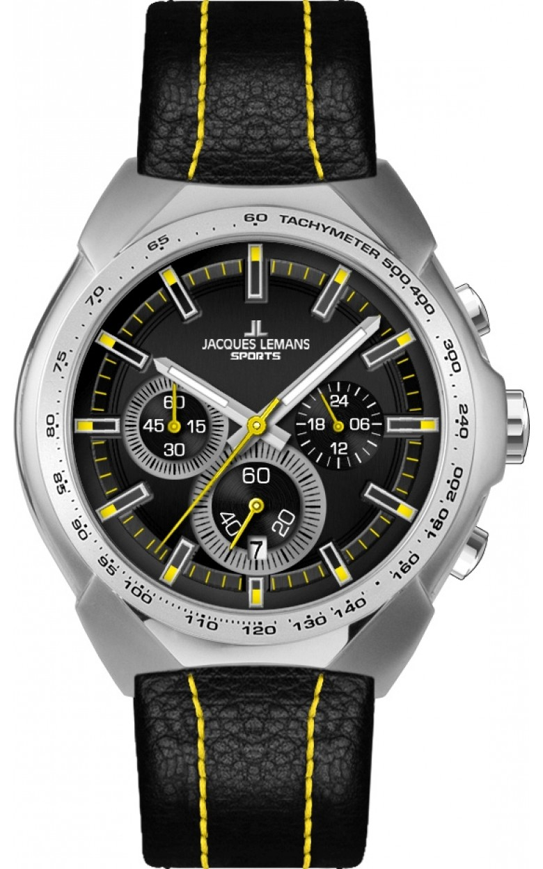 1-1675E  кварцевые наручные часы Jacques Lemans для мужчин  1-1675E