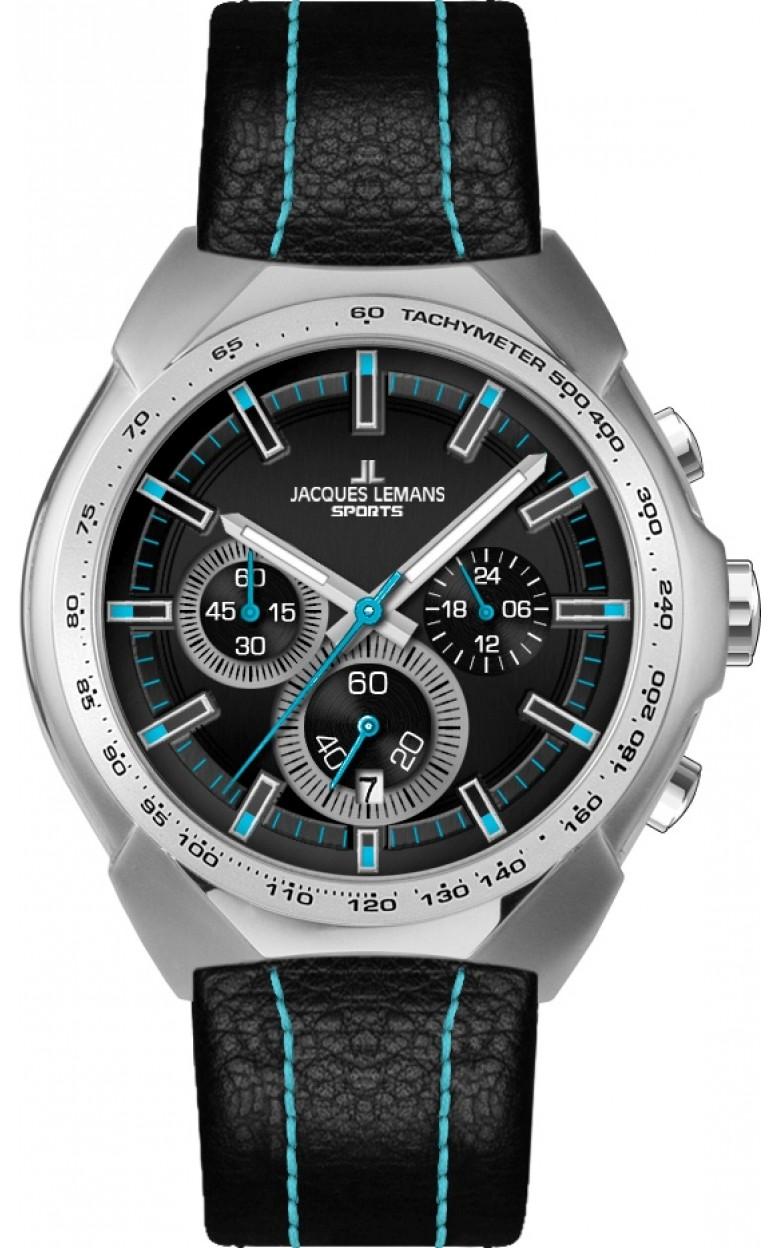 1-1675F  кварцевые наручные часы Jacques Lemans для мужчин  1-1675F