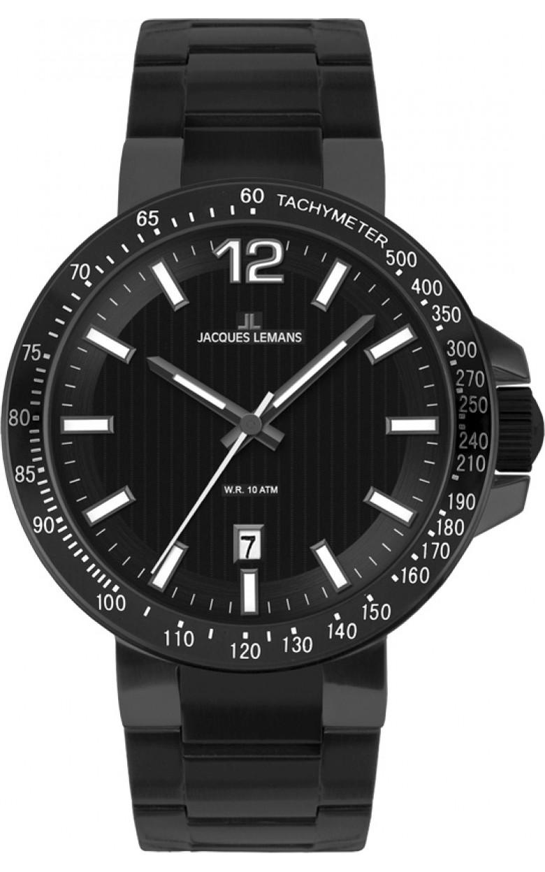 1-1695F  кварцевые наручные часы Jacques Lemans для мужчин  1-1695F