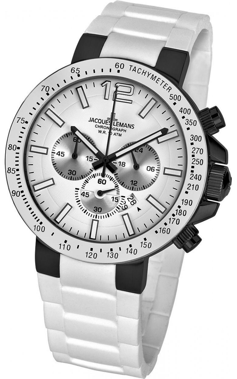 1-1696G  мужские кварцевые наручные часы Jacques Lemans  1-1696G
