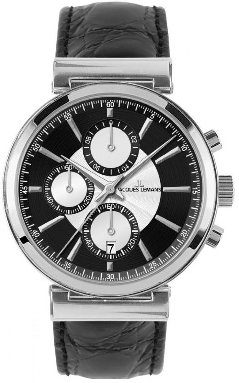 1-1699A  мужские кварцевые наручные часы Jacques Lemans  1-1699A