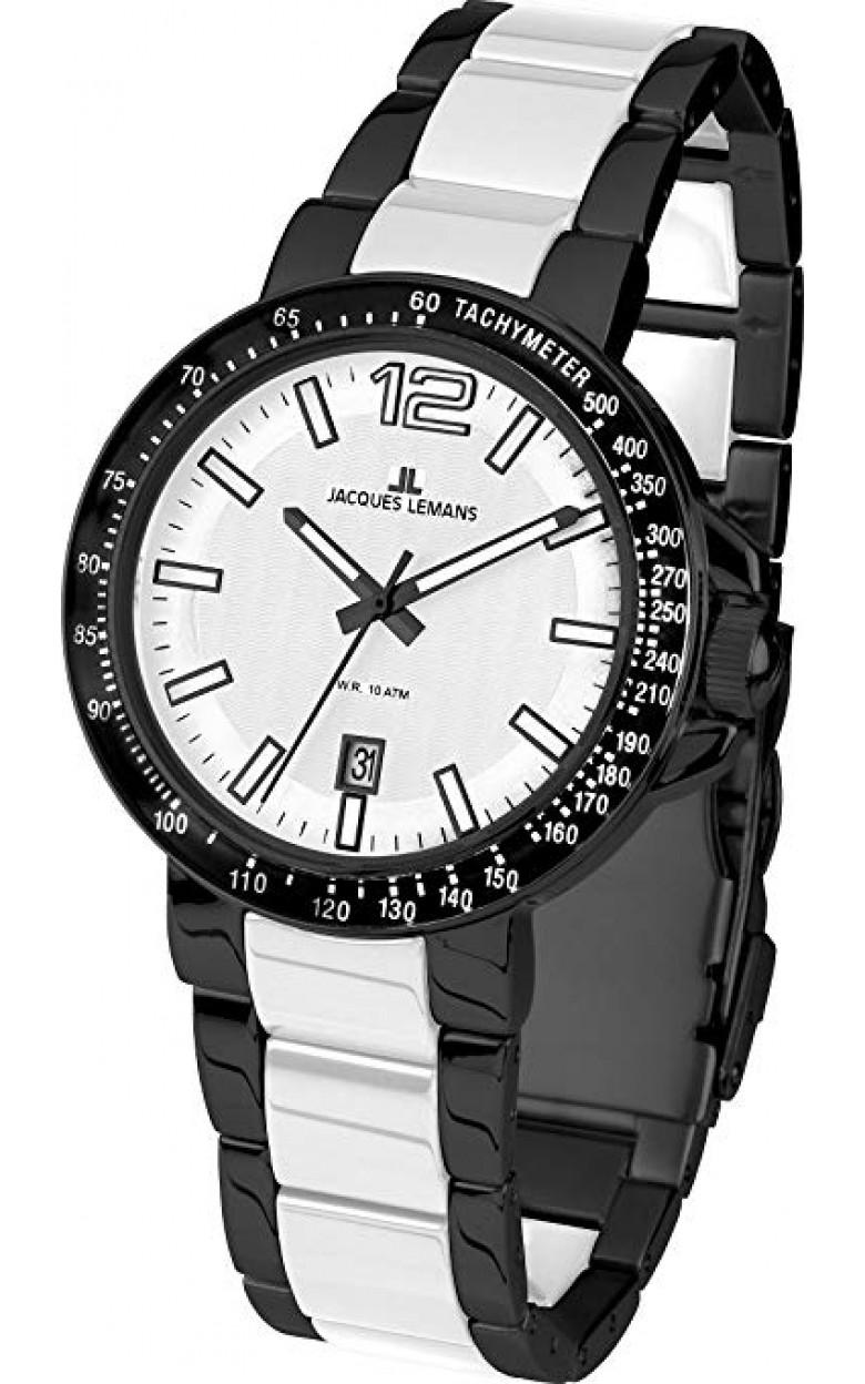 1-1711F  мужские кварцевые наручные часы Jacques Lemans  1-1711F