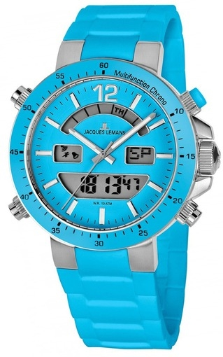 1-1712L  кварцевые наручные часы Jacques Lemans для мужчин  1-1712L