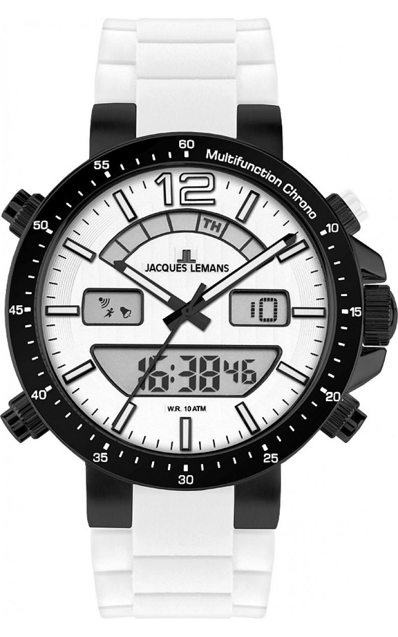 """1-1712P  кварцевые наручные часы Jacques Lemans """"Sport""""  1-1712P"""