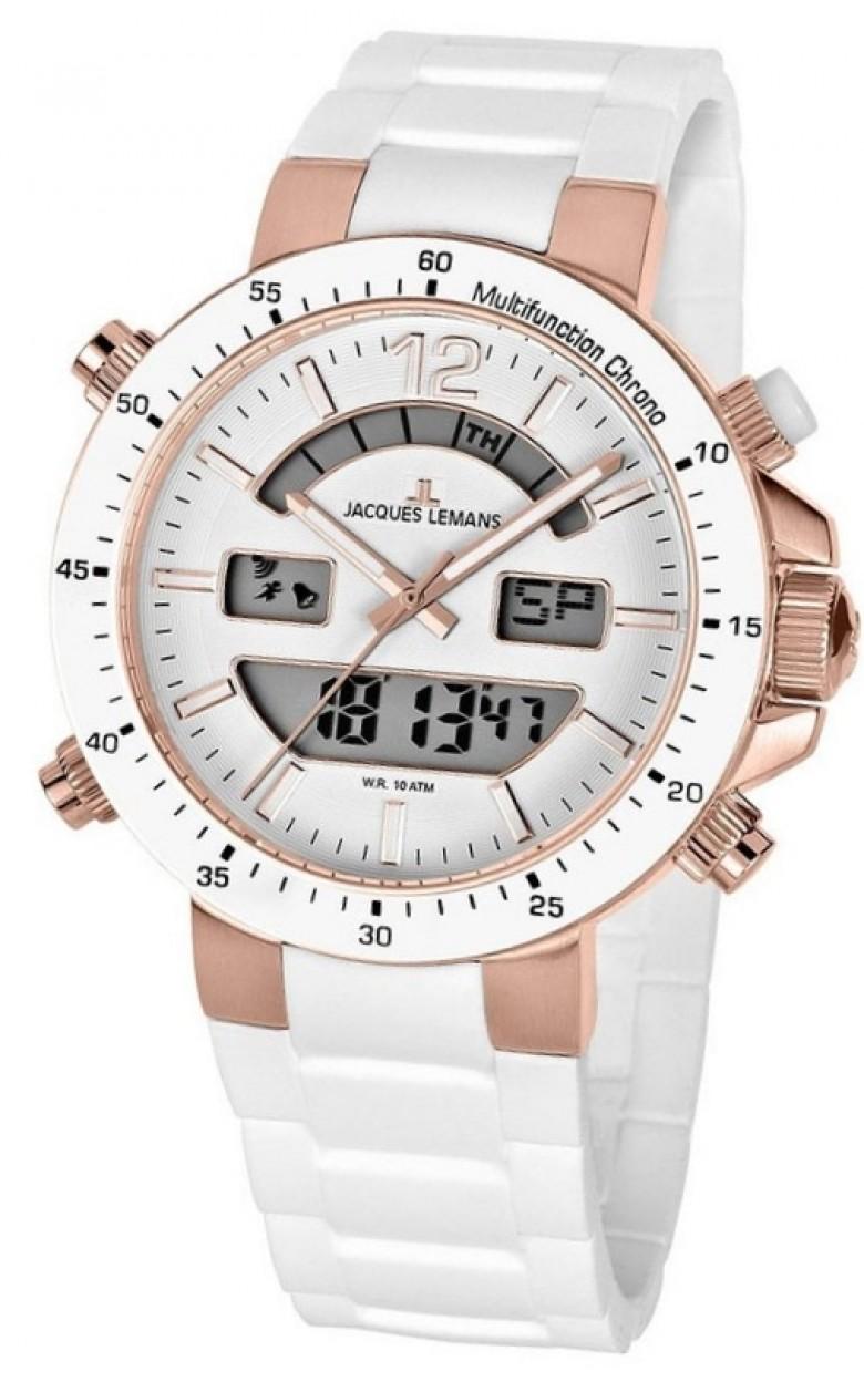 1-1712Q  кварцевые с функциями хронографа наручные часы Jacques Lemans  1-1712Q