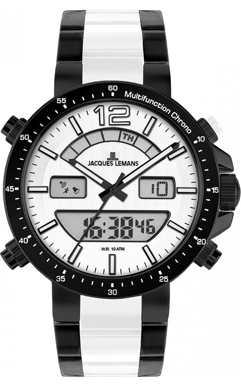1-1714F  кварцевые наручные часы Jacques Lemans для мужчин  1-1714F