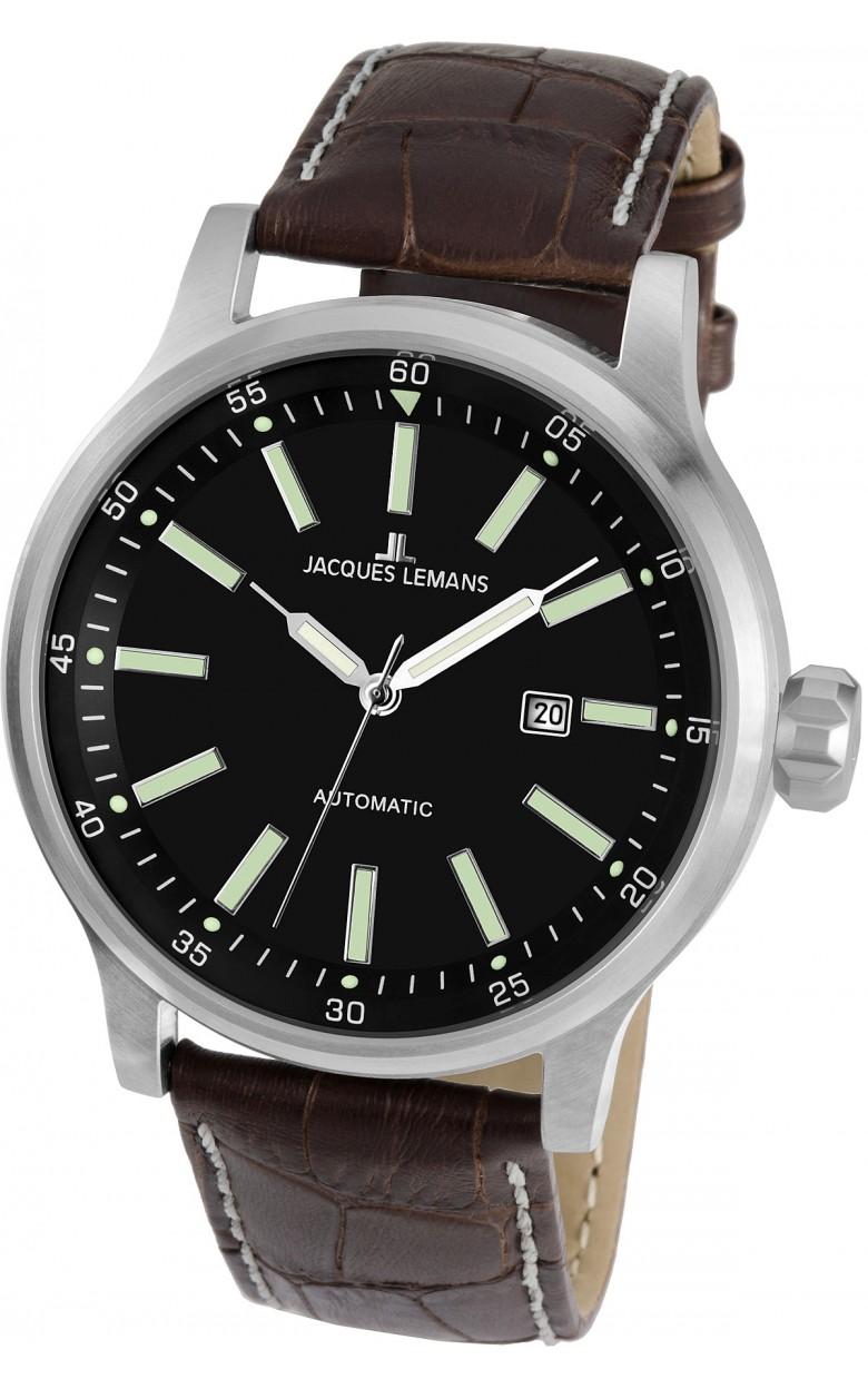 1-1723B  механические наручные часы Jacques Lemans для мужчин  1-1723B