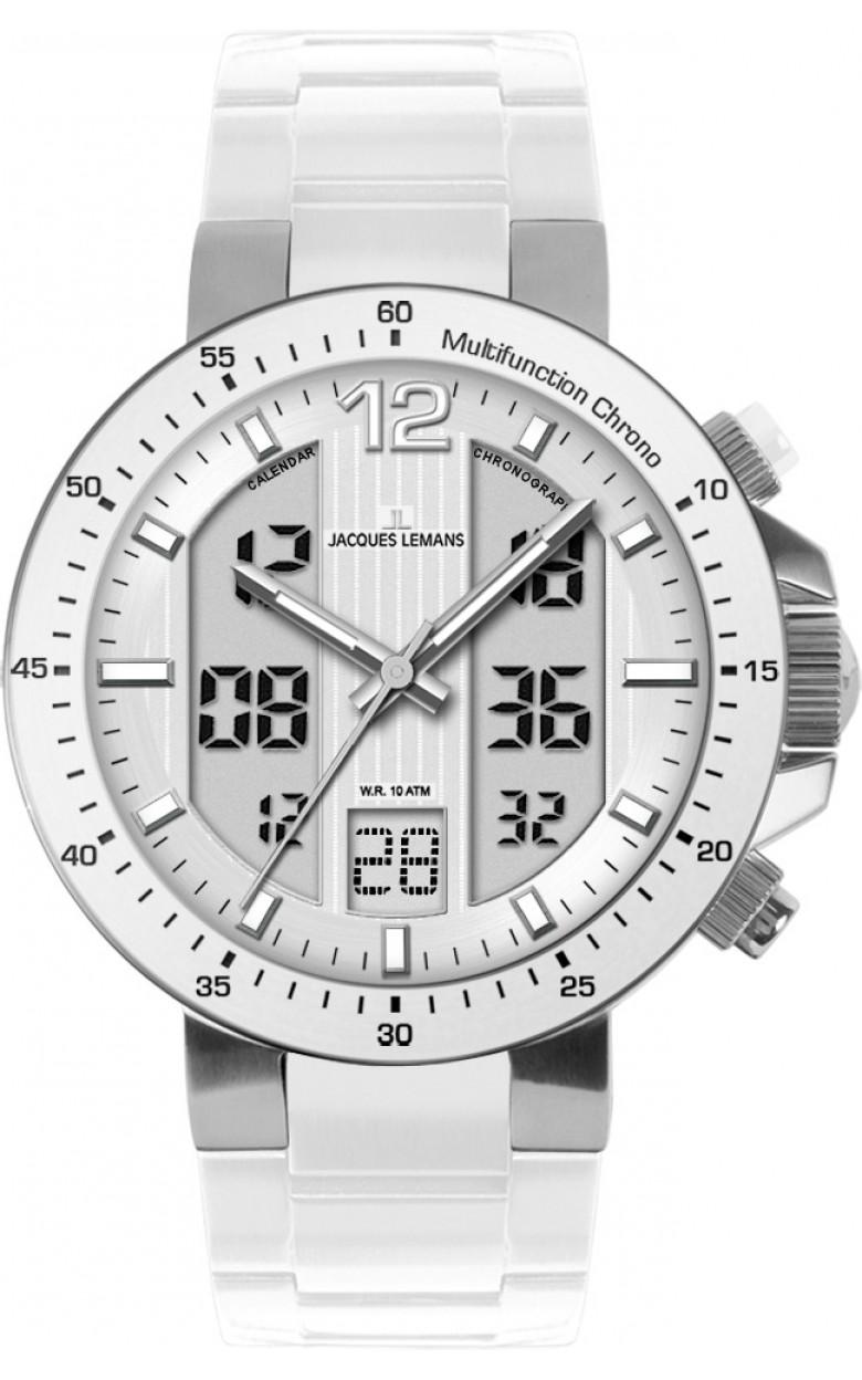 1-1726B  кварцевые с функциями хронографа наручные часы Jacques Lemans  1-1726B