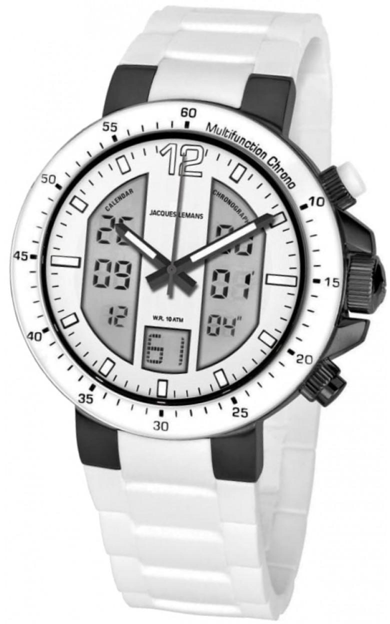 1-1726G  мужские кварцевые наручные часы Jacques Lemans  1-1726G