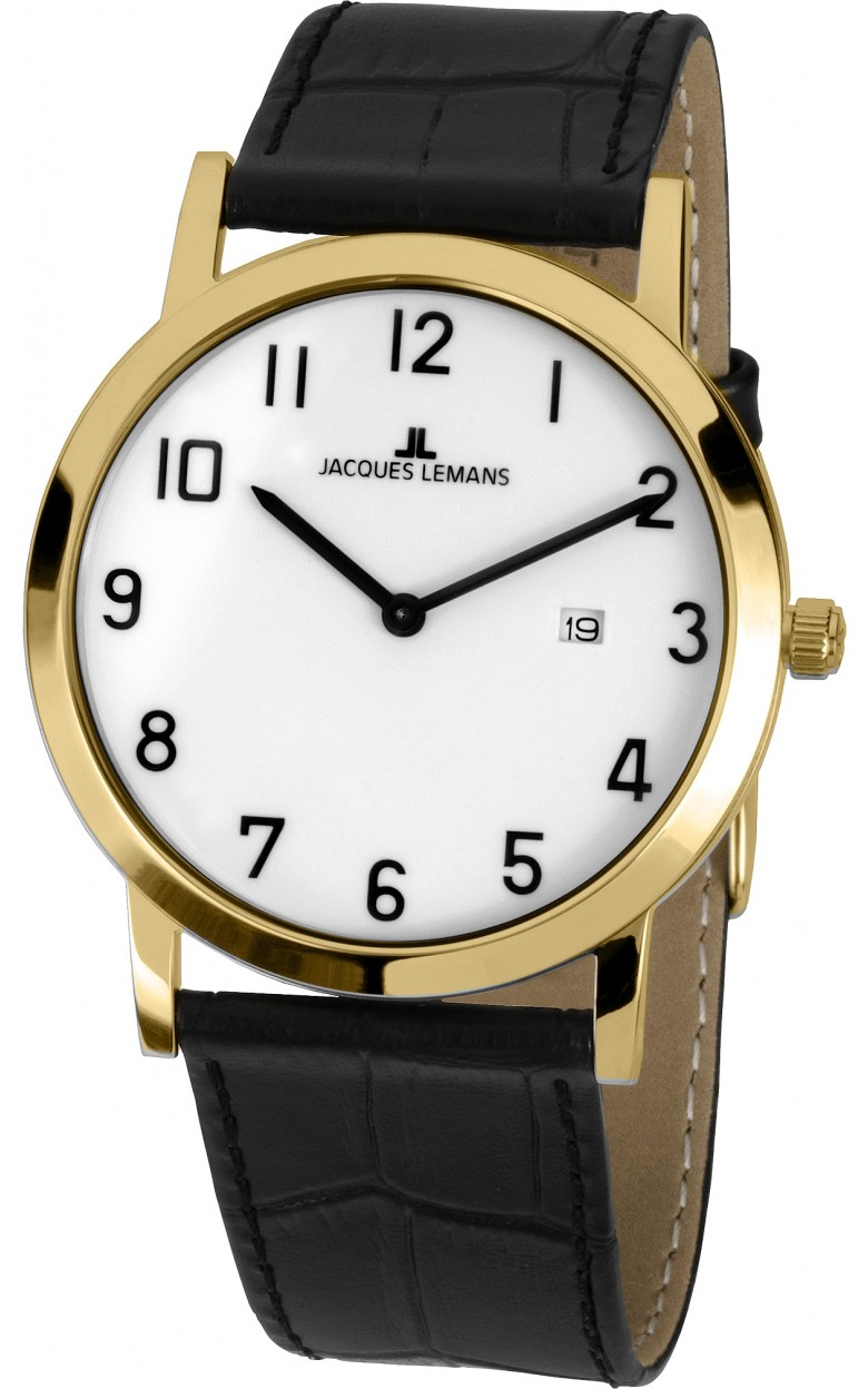 1-1727E  кварцевые наручные часы Jacques Lemans для мужчин  1-1727E