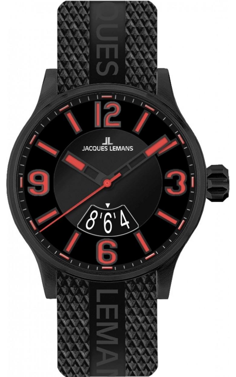 1-1729F  кварцевые наручные часы Jacques Lemans для мужчин  1-1729F