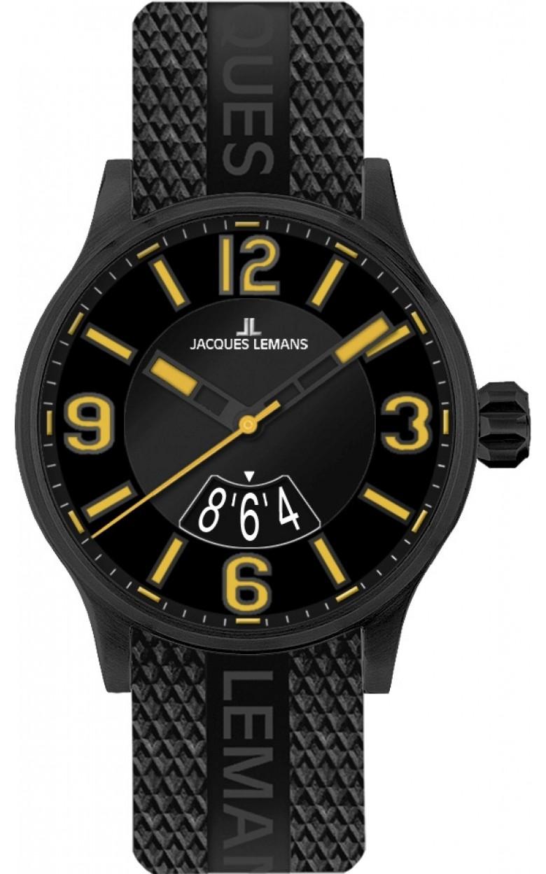 1-1729G  кварцевые наручные часы Jacques Lemans для мужчин  1-1729G