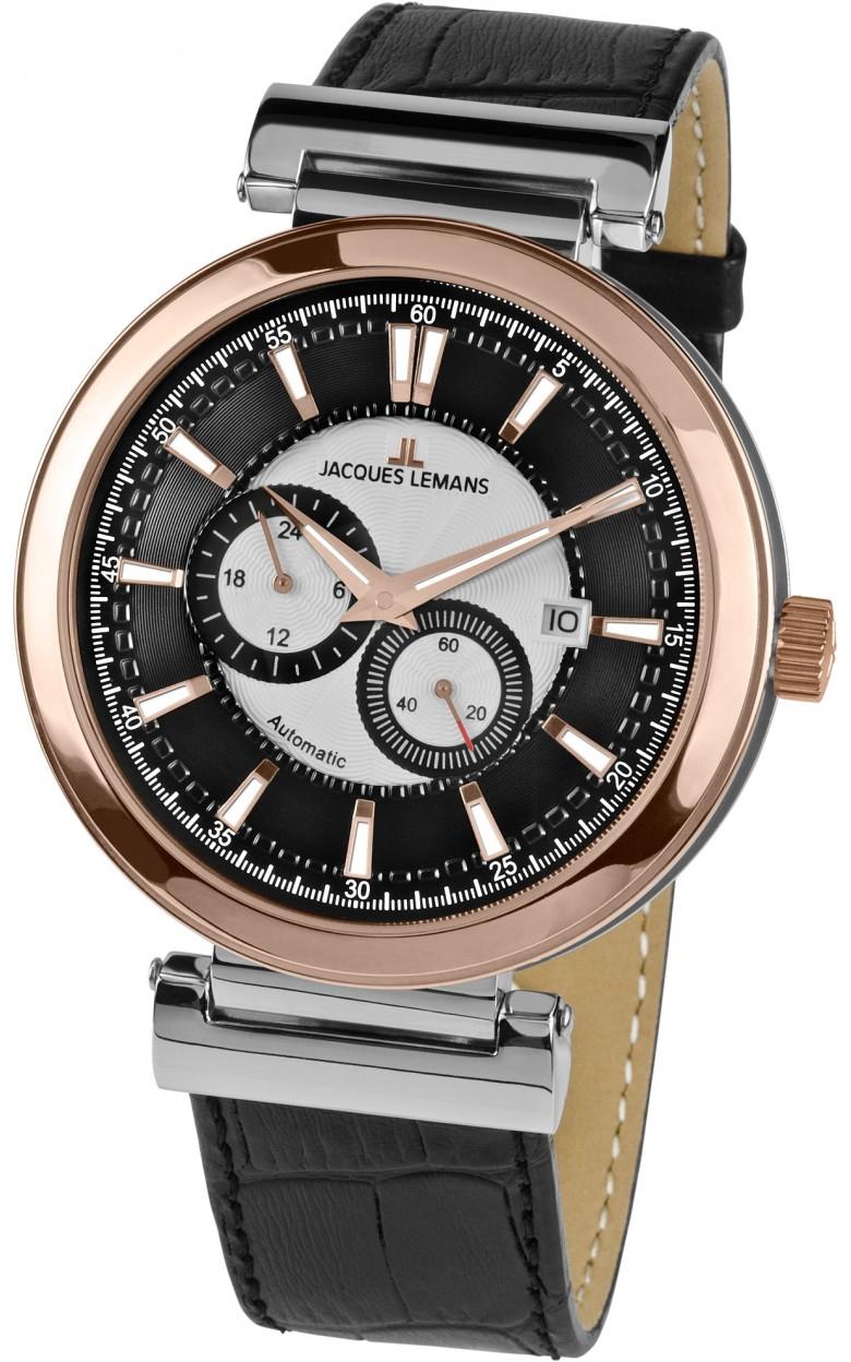1-1730B  механические с автоподзаводом часы Jacques Lemans  1-1730B
