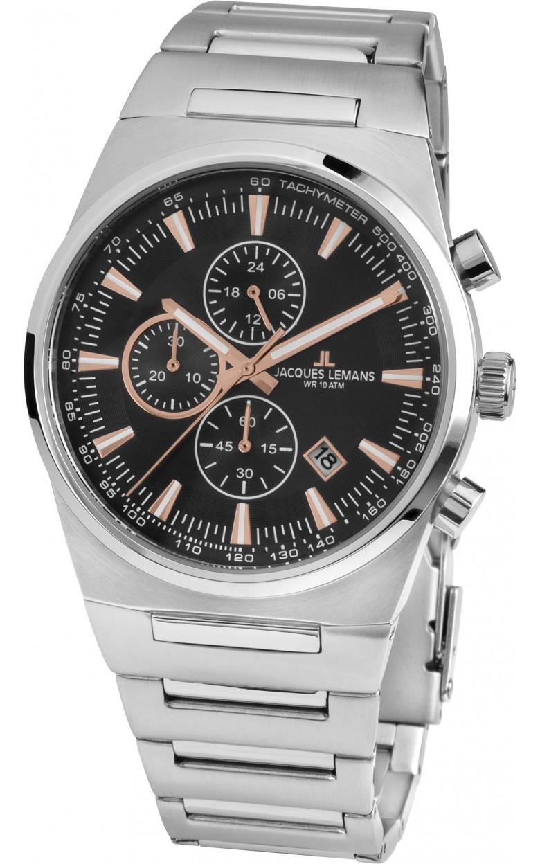 1-1734A  кварцевые наручные часы Jacques Lemans для мужчин  1-1734A