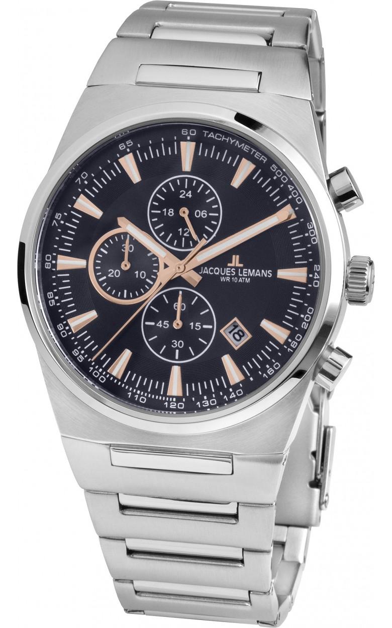 1-1734B  кварцевые наручные часы Jacques Lemans  1-1734B
