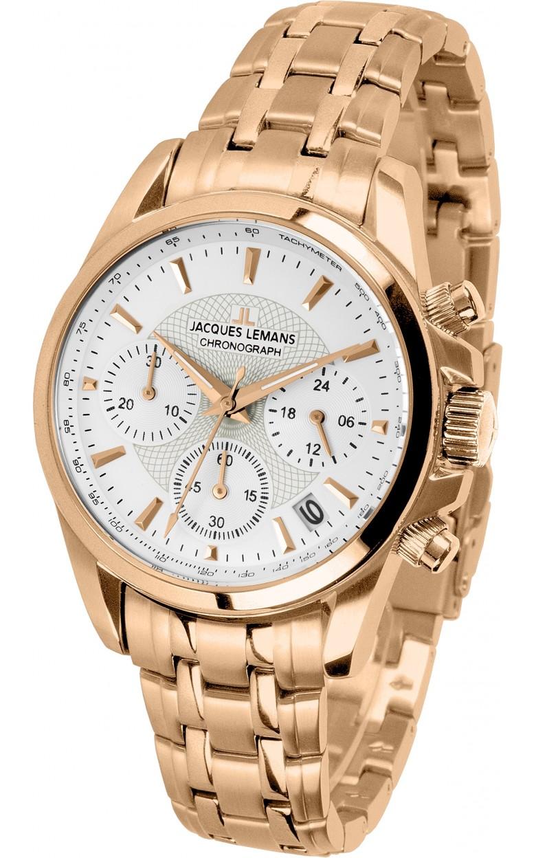 1-1752M  кварцевые наручные часы Jacques Lemans для женщин  1-1752M