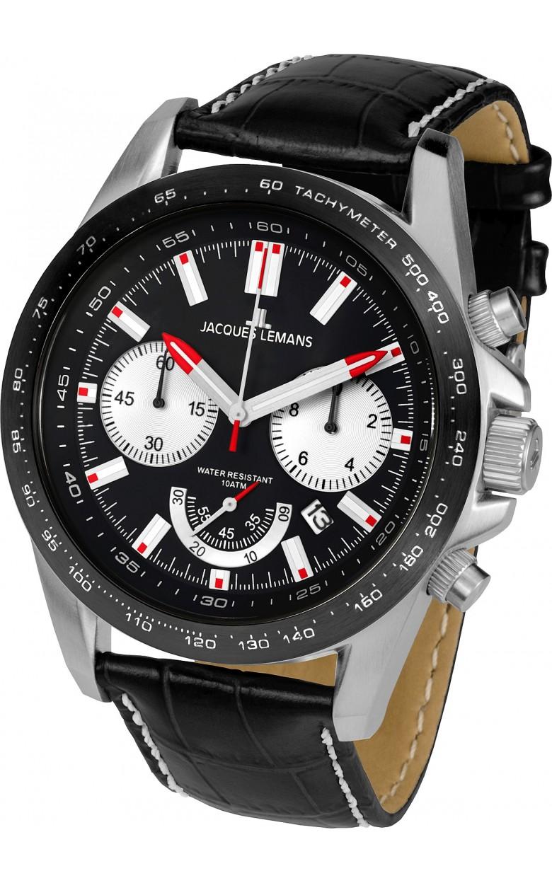 1-1756A  кварцевые наручные часы Jacques Lemans для мужчин  1-1756A