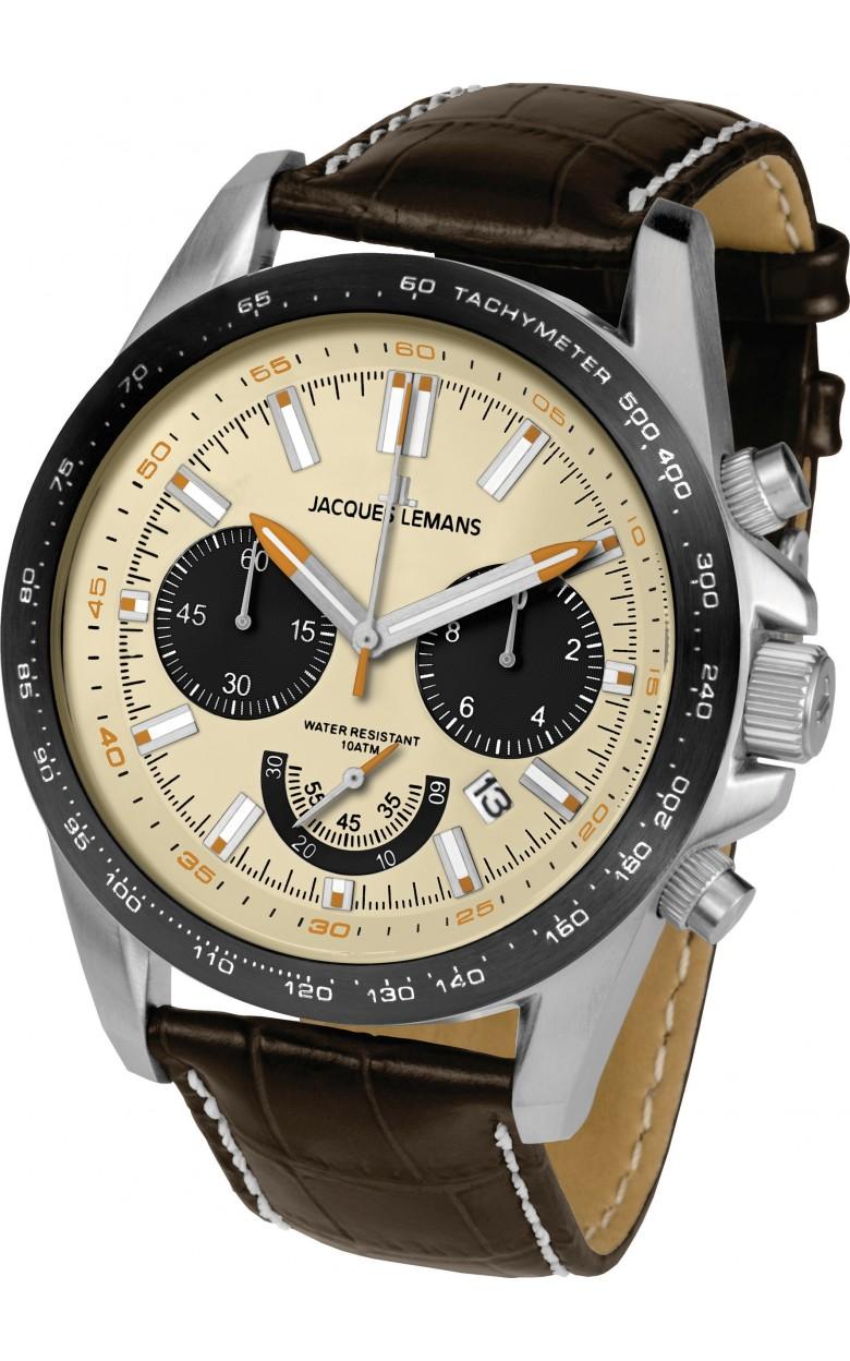 1-1756B  кварцевые наручные часы Jacques Lemans для мужчин  1-1756B