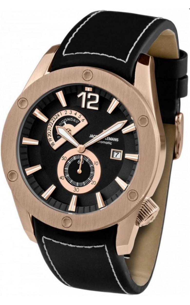 1-1765C  механические с автоподзаводом часы Jacques Lemans  1-1765C