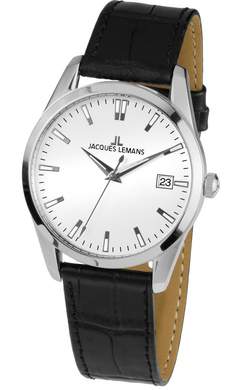 1-1769D  мужские кварцевые наручные часы Jacques Lemans  1-1769D