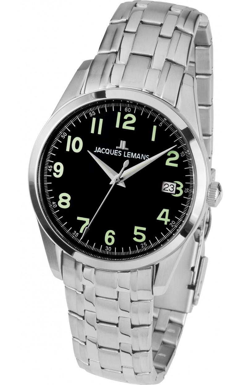 1-1769F  кварцевые наручные часы Jacques Lemans для мужчин  1-1769F