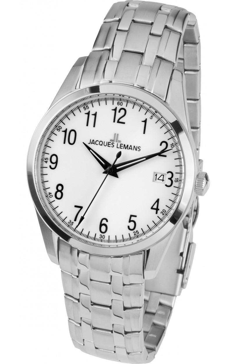 1-1769G  мужские кварцевые наручные часы Jacques Lemans  1-1769G