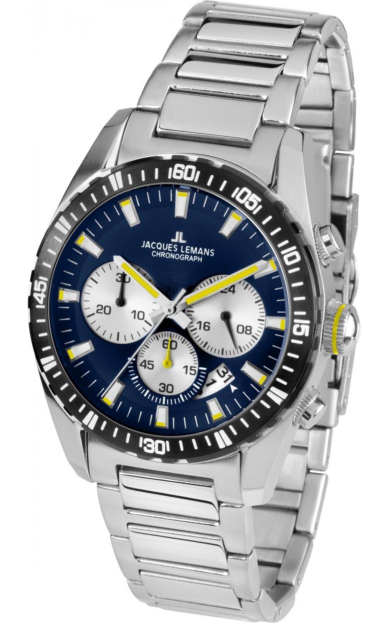 1-1801M  кварцевые наручные часы Jacques Lemans для мужчин  1-1801M