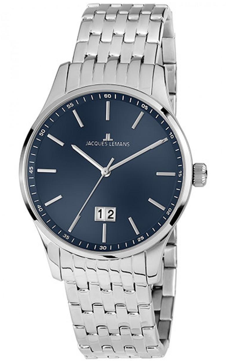 1-1862i  кварцевые наручные часы Jacques Lemans для мужчин  1-1862i