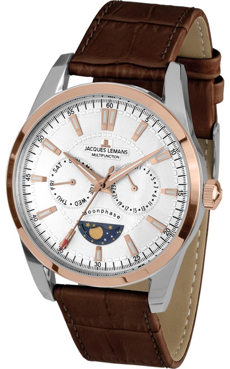 1-1901C  кварцевые наручные часы Jacques Lemans для мужчин  1-1901C