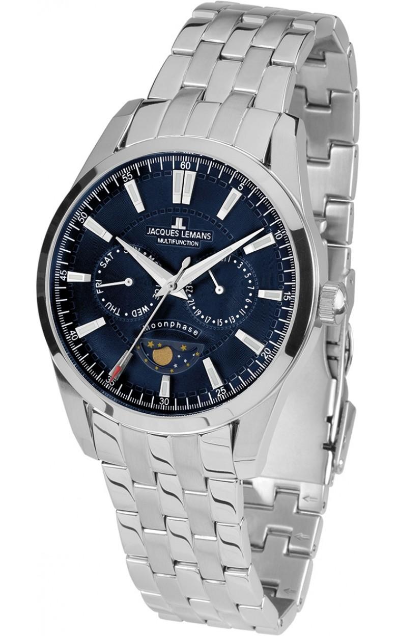 1-1901F  мужские кварцевые наручные часы Jacques Lemans  1-1901F