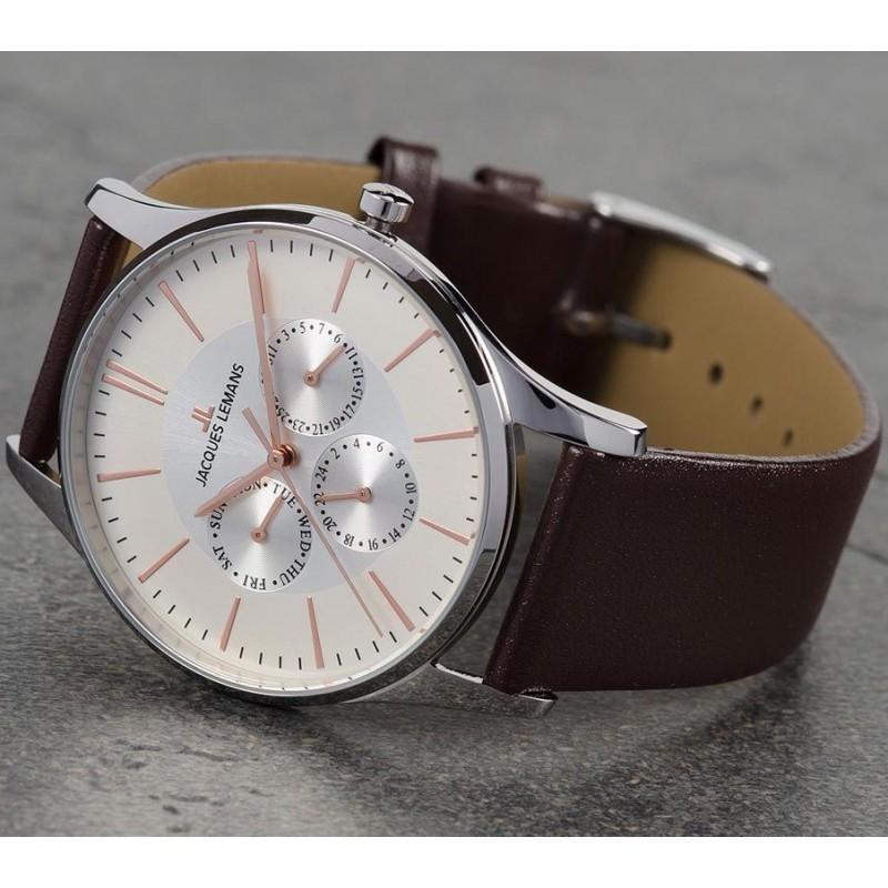 1-1929D  часы Jacques Lemans  1-1929D