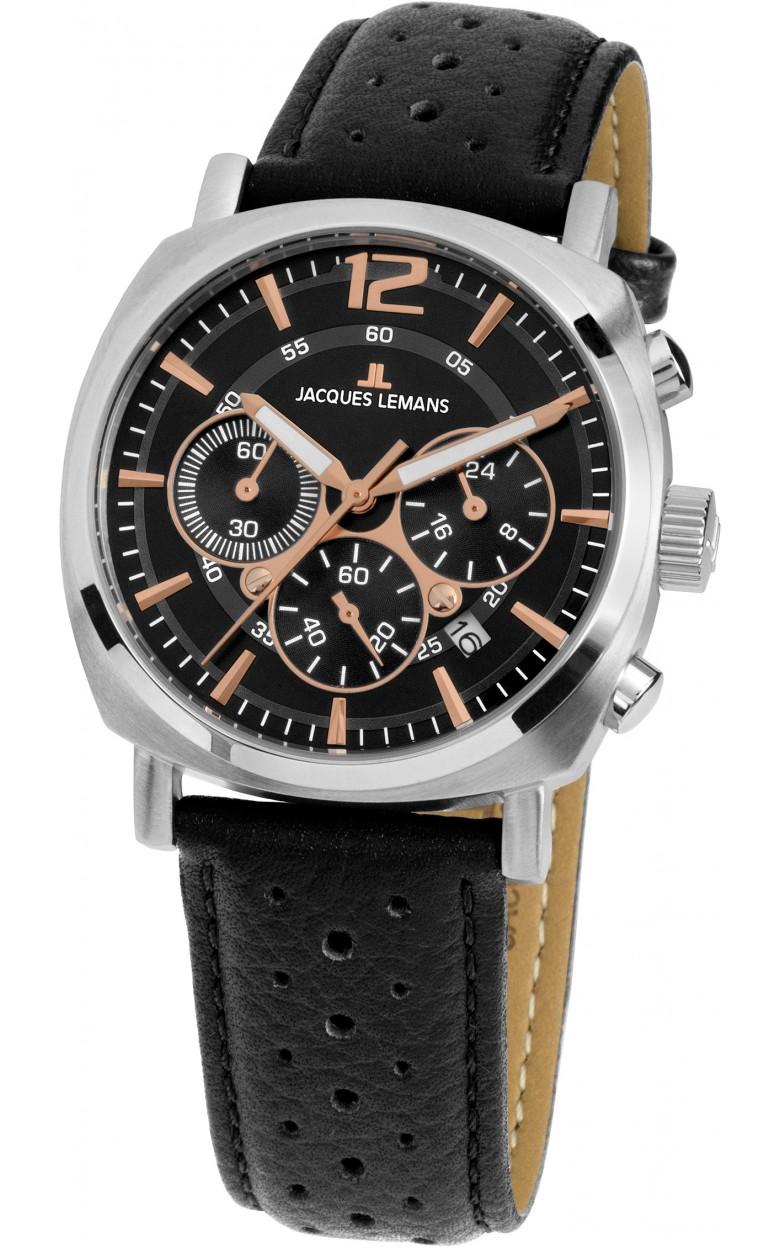 1-1931A  унисекс кварцевые наручные часы Jacques Lemans  1-1931A