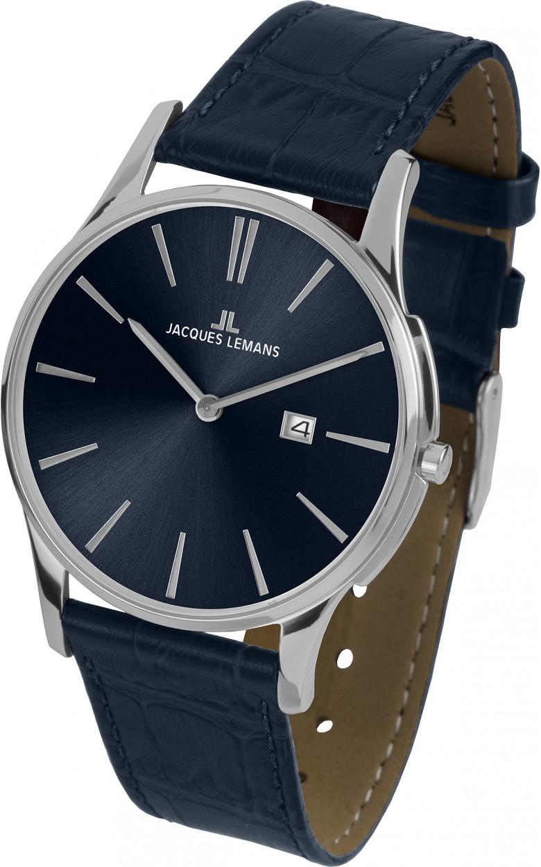 1-1936C  унисекс кварцевые наручные часы Jacques Lemans  1-1936C