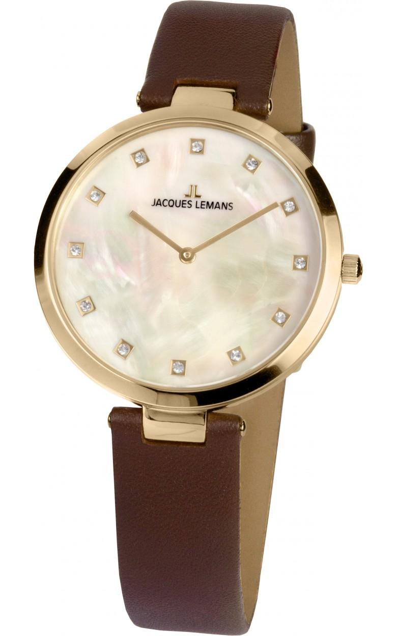 1-2001B  кварцевые наручные часы Jacques Lemans для женщин  1-2001B