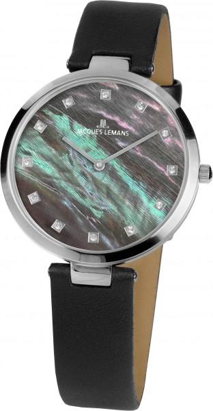 1-2001E  кварцевые наручные часы Jacques Lemans для женщин  1-2001E