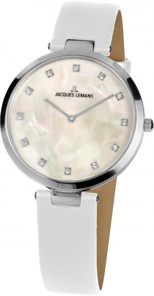 1-2001F  кварцевые наручные часы Jacques Lemans для женщин  1-2001F