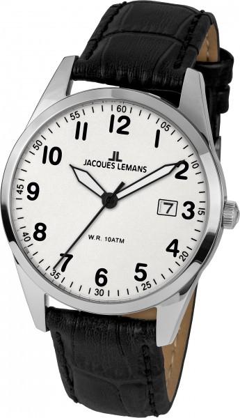 1-2002B  кварцевые наручные часы Jacques Lemans  1-2002B