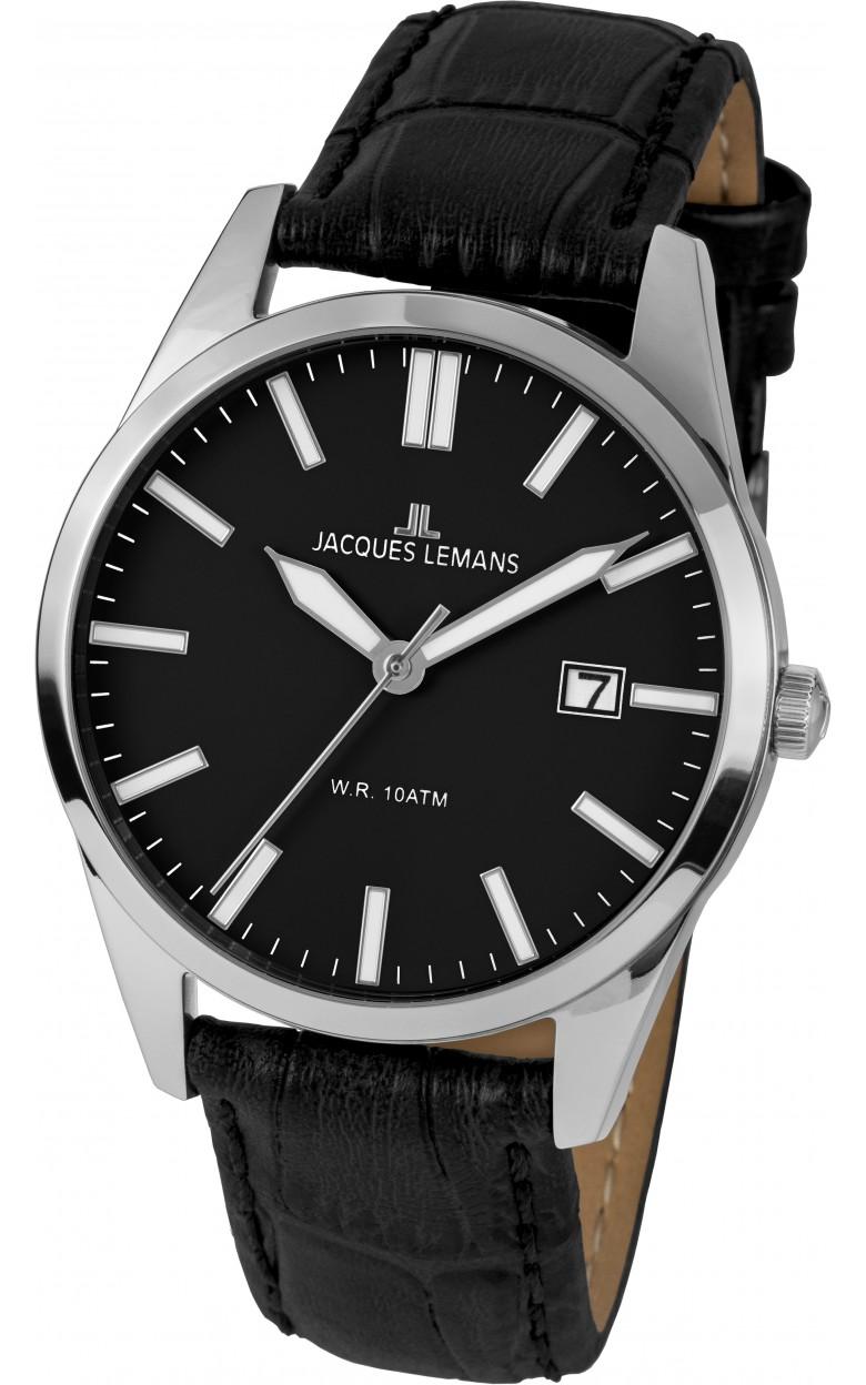 1-2002D  кварцевые наручные часы Jacques Lemans для мужчин  1-2002D