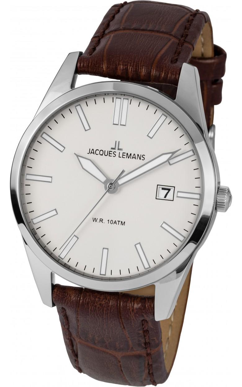 1-2002E  кварцевые наручные часы Jacques Lemans для мужчин  1-2002E