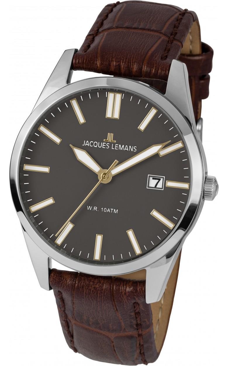 1-2002G  кварцевые наручные часы Jacques Lemans для мужчин  1-2002G