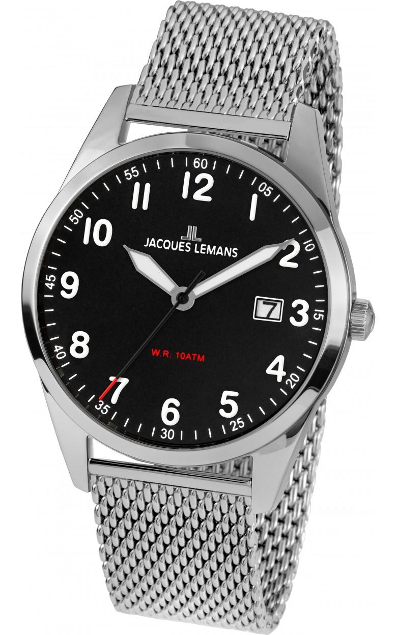 1-2002H  мужские кварцевые наручные часы Jacques Lemans  1-2002H