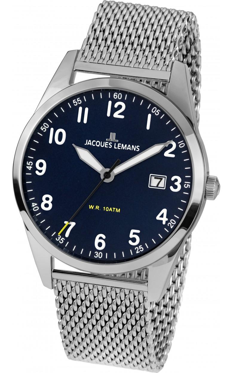 1-2002J  кварцевые наручные часы Jacques Lemans для мужчин  1-2002J