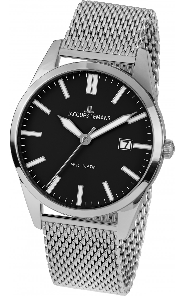 1-2002K  кварцевые наручные часы Jacques Lemans для мужчин  1-2002K