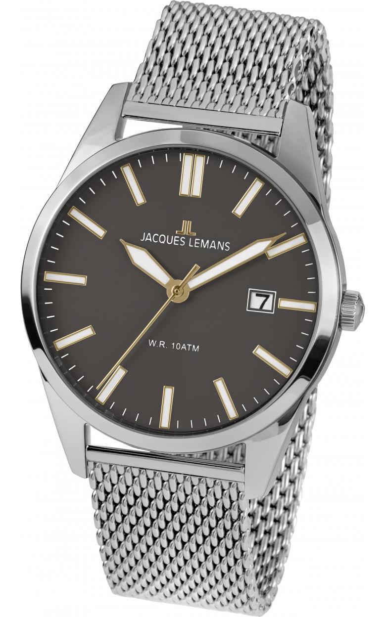 1-2002N  кварцевые наручные часы Jacques Lemans для мужчин  1-2002N