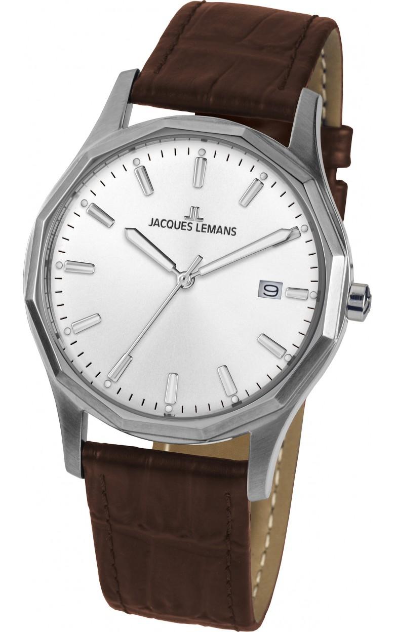 1-2010B  кварцевые наручные часы Jacques Lemans для мужчин  1-2010B