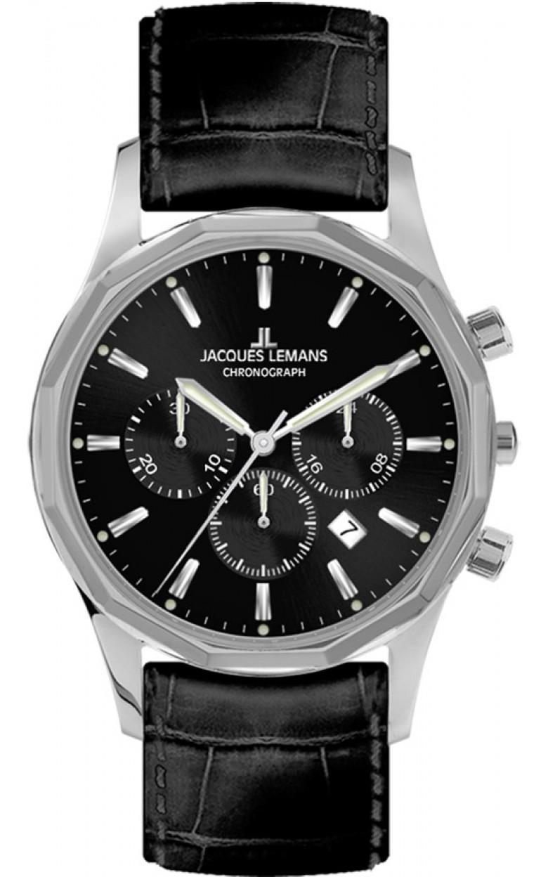 1-2021A  мужские кварцевые часы Jacques Lemans  1-2021A