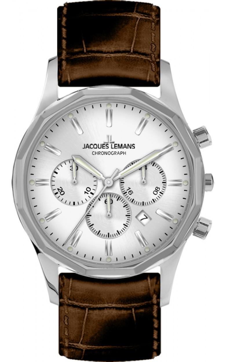 1-2021B  кварцевые наручные часы Jacques Lemans для мужчин  1-2021B